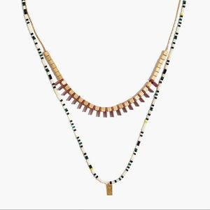 Madewell Radiate Necklace Set
